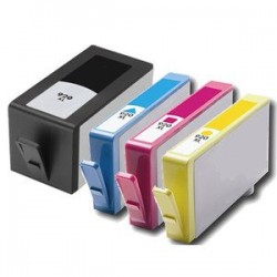 Set 4 cartuse imprimanta HP 920XL Black,Cyan,Magenta,Yellow,compatibile