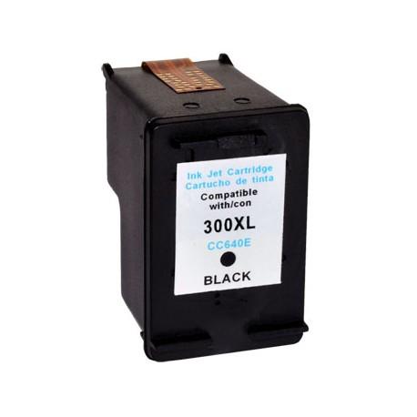 Cartus HP 300 XL BK CC641EE negru compatibil
