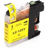 Cartus cerneala Brother LC125XLY yellow compatibil