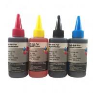 Set 4 flacoane cerneala compatibila Epson T6641 T6642 T6643 T6644