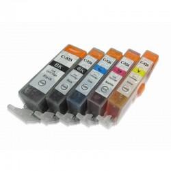 Set 5 cartuse imprimanta Canon PGI525/CLI526Bk/CLI526C/CLI526M/CLI526Y compatibile