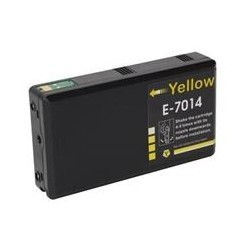Cartus Epson T7014 14XL compatibil yellow capacitate mare