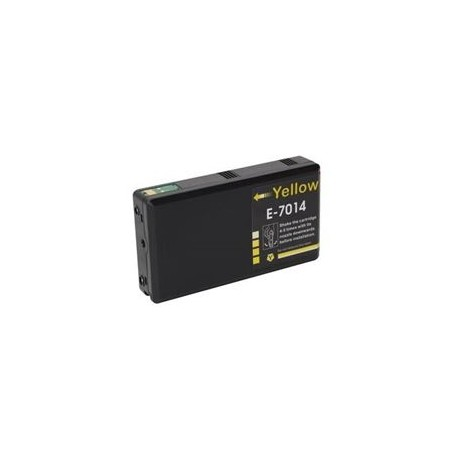 Cartus Epson T7014 14XL compatibil yellow capacitate mare