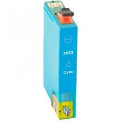 Cartus Epson T2632 26XL compatibil cyan capacitate mare