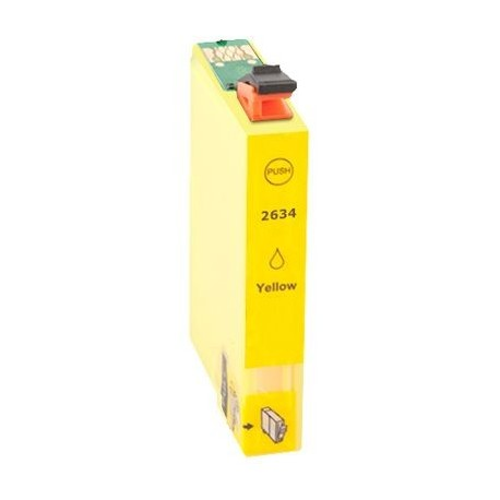 Cartus Epson T2634 26XL compatibil yellow capacitate mare