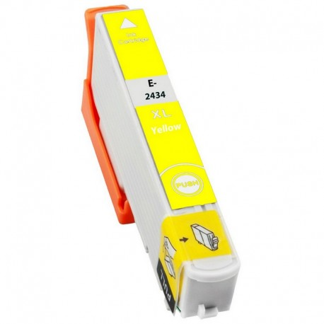 Cartus Epson T2434 24XL compatibil yellow capacitate mare