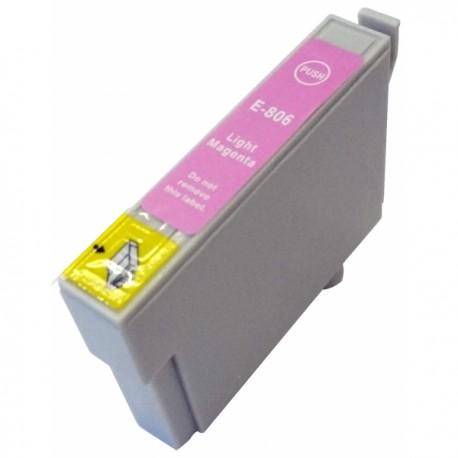 Cartus Epson T0806 compatibil light magenta de capacitate mare