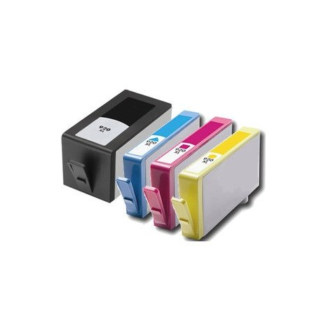 Set 4 cartuse imprimanta HP 920XL Black,Cyan,Magenta,Yellow,compatibile