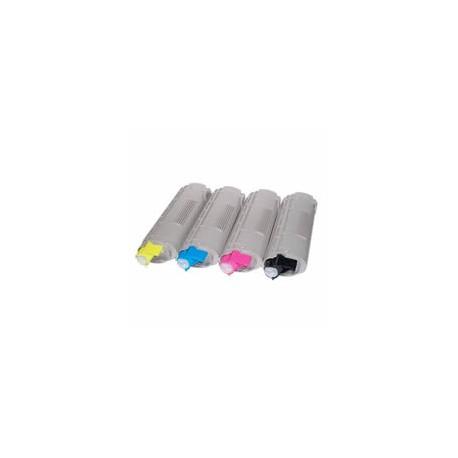 Set 4 cartuse toner imprimanta OKI C5650 compatibile
