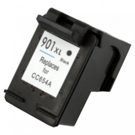 Cartus HP 901 XL BK CC654AE negru compatibil