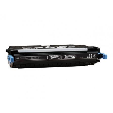 Cartus toner HP Q6470A HP501A negru compatibil