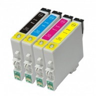 Set 4 cartuse Epson T441 T442 T443 T444 compatibile