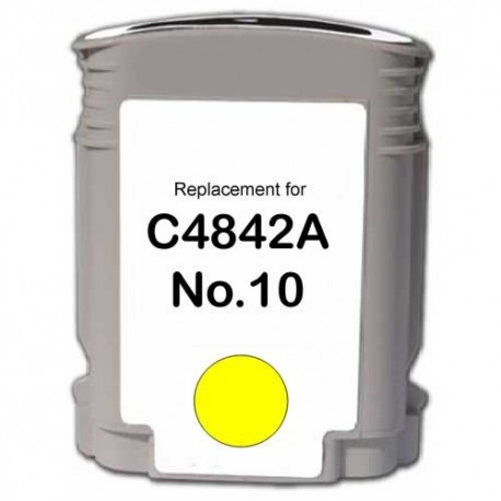 Cartus HP-10 compatibil HP C4842A Yellow