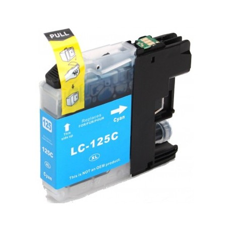 Cartus cerneala Brother LC125XLC Cyan compatibil