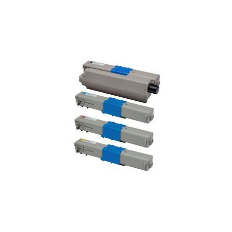 Set 4 cartuse toner OKI C301 OKI 321 compatibile