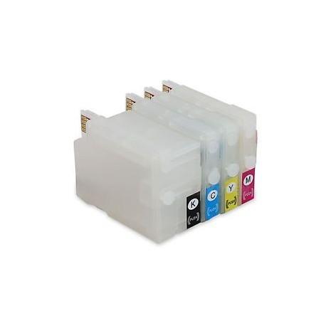 Set 4 cartuse reincarcabile HP932/HP933 autoresetabile compatibile