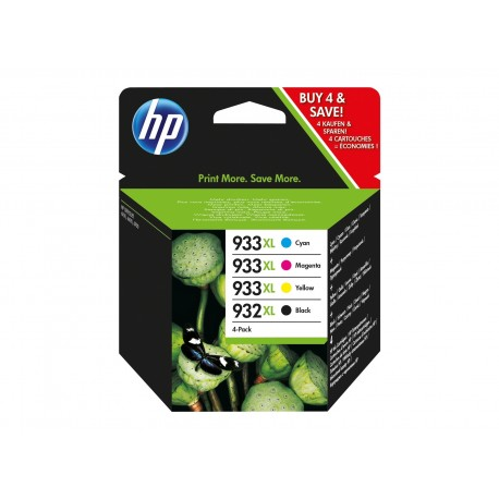 Set 4 cartuse originale HP 933XL 932XL
