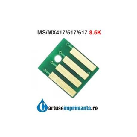 Chip Lexmark MX317 MX417 MS317 MS417 8K5 compatibil 51B2000