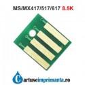 Chip Lexmark MX417 MS417 8K5 MX517 MX compatibil