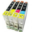 Set 4 cartuse compatibile Epson T0611 T0612 T0613 T0614