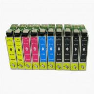 Set 10 cartuse compatibile Epson T0711/T0712/T0713/T0714