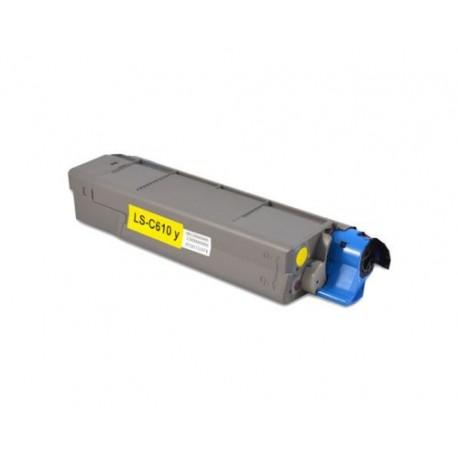 Cartus toner compatibil OKI 44315305 C610 YE 6K