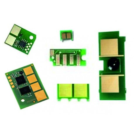Chip HP 4600C magenta compatibil SCC